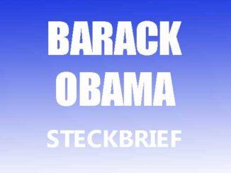 Teaserbild - Barack Obama Steckbrief