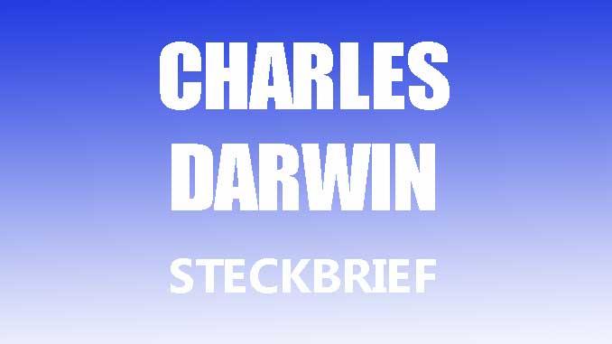 Teaserbild - Charles Darwin Steckbrief