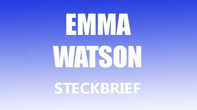 Teaserbild - Emma Watson Steckbrief