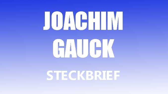 Teaserbild - Joachim Gauck Steckbrief