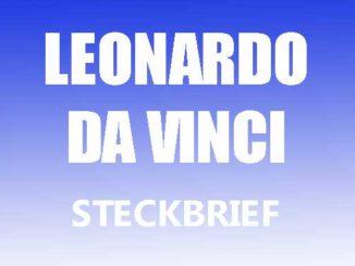 Teaserbild - Leonardo da Vinci Steckbrief
