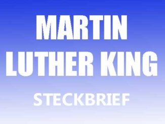 Teaserbild - Martin Luther King Steckbrief