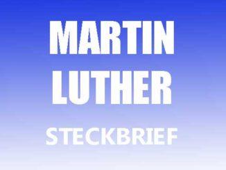 Teaserbild - Martin Luther Steckbrief