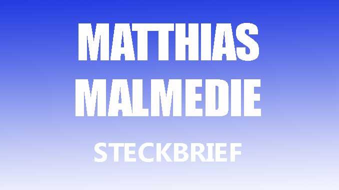 Teaserbild - Matthias Malmedie Steckbrief