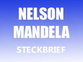 Teaserbild - Nelson Mandela Steckbrief