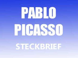 Teaserbild - Pablo Picasso Steckbrief