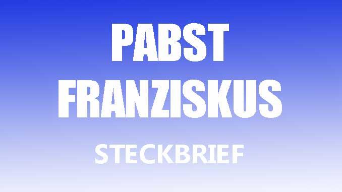 Teaserbild - Pabst Franziskus Steckbrief
