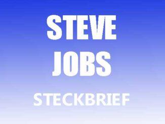 Teaserbild - Steve Jobs Steckbrief